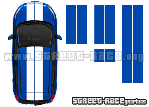 Universal racing stripes