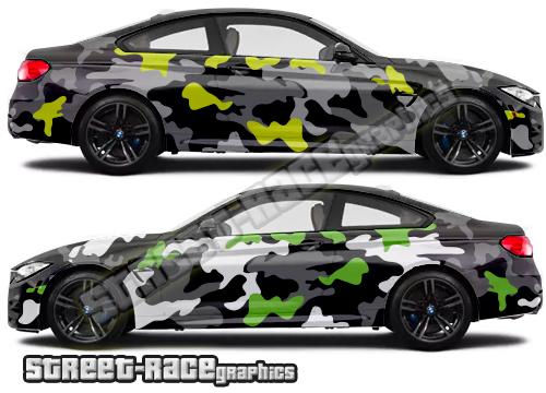 Camouflage graphics