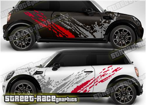 Mini racing & rally graphics