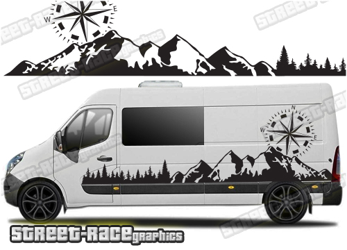 Campervan Stickers & Campervan Decals Online