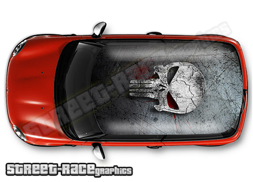 Movie style car roof wraps