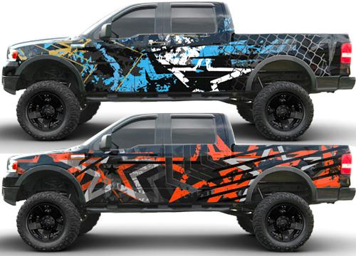 4x4 truck graphics