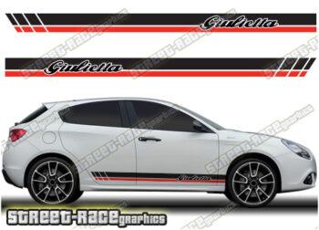Alfa Romeo Giulietta side decals