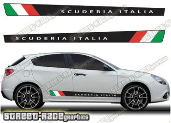 Alfa Romeo Giulietta printed stripes