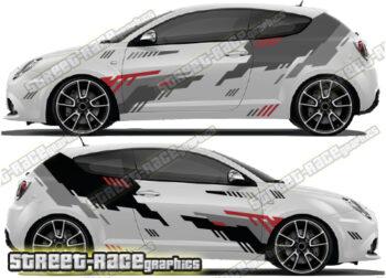 Alfa Romeo MiTo rally / race graphics