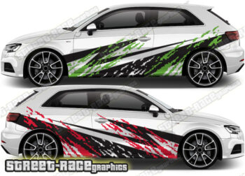 Audi A3 rally graphics
