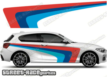 BMW 1 SERIES printed stickers