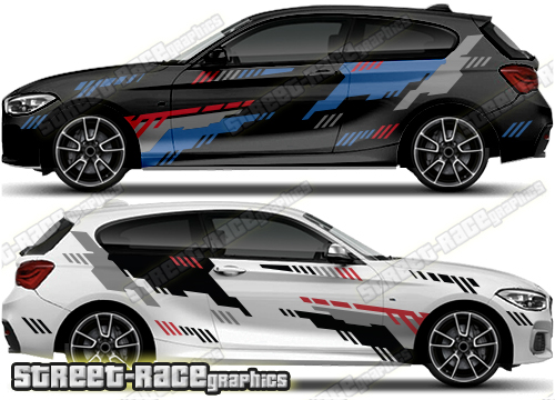 BMW 1 SERIES rally stickers