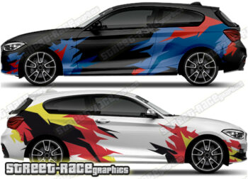 BMW 1 SERIES rally decals
