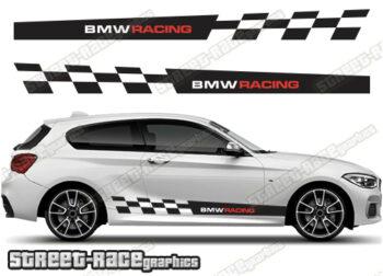 BMW 1 SERIES side stickers