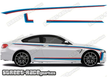 BMW 3 SERIES printed stickers
