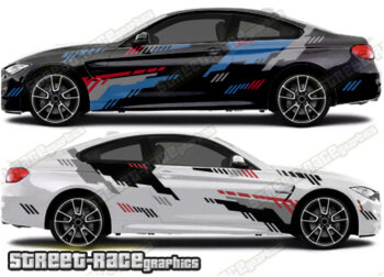 BMW 3 SERIES rally decals
