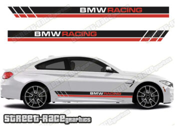 BMW 3 SERIES side stripes