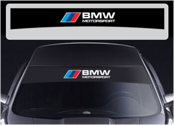 BMW sunstrips
