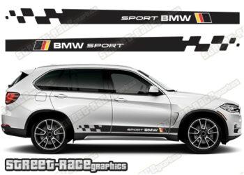 BMW X5 side stripes