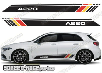 Mercedes A Class side stickers