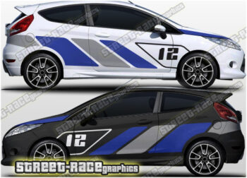 Ford Fiesta rally & race graphics