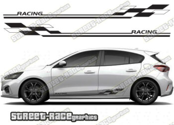 Ford Focus side graphics