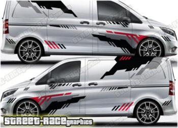 Mercedes Vito rally/racing graphics