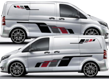 Mercedes Vito large side decals