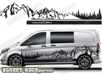 Mercedes Vito / V-Class campervan stickers